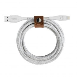 Kabel Lightning do USB-A DuraTek Plus 1.2 m biały